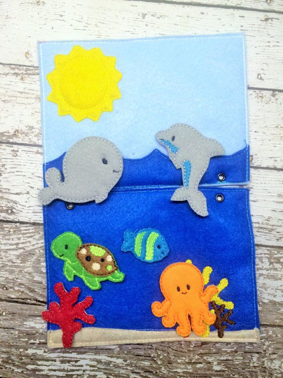 Hey, I found this really awesome Etsy listing at https://www.etsy.com/listing/236163783/quiet-book-ocean-playset-busy-book-busy