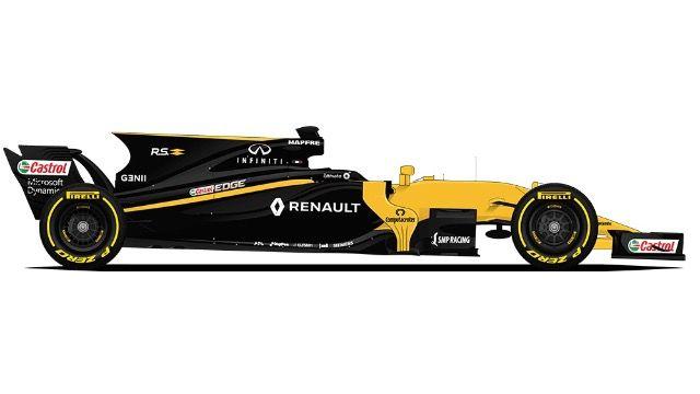 F1   RENAULT   #27  Nico Hülkenberg ( All ) - #30  Jolyon Palmer ( 1-15 ) - #55  Carlos Sainz ( 16-20 )