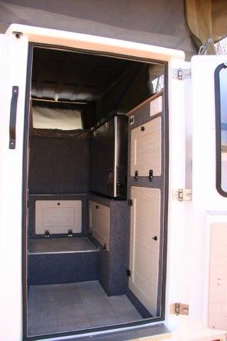 Abba Campers Compact right hand interior side