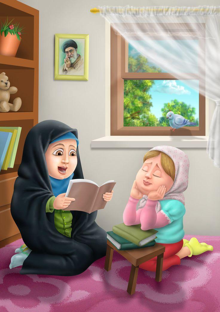 Muslim girls by miladps3.deviantart.com on @DeviantArt