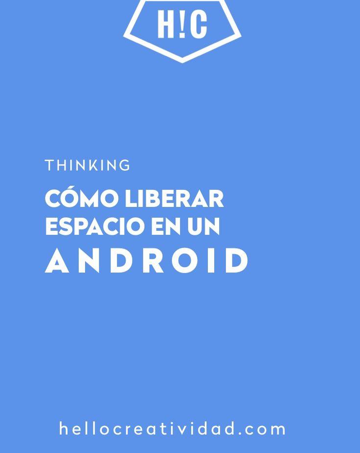 Cómo liberar espacio #Android #trucosfotografia