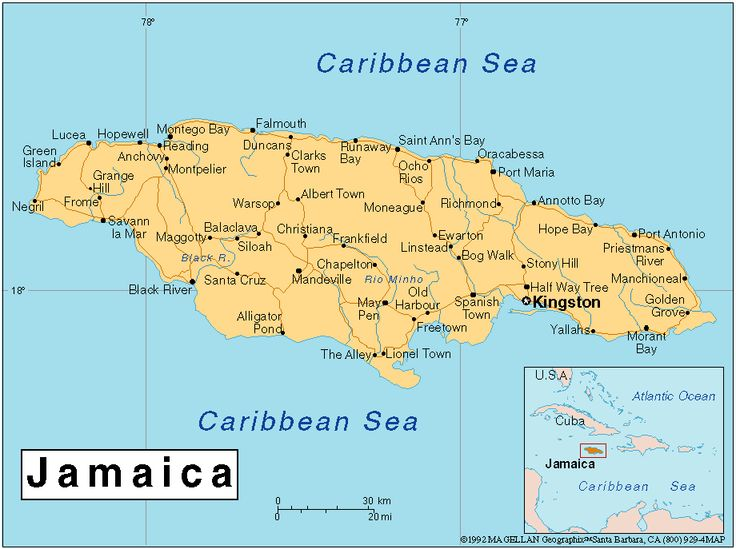 The Best Jamaica World Map Ideas On Pinterest Maps S Pirate - Political map of jamaica