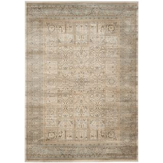 Superior Shop For Safavieh Vintage Ivory/ Light Blue Rug (4u0027 X 5u00277