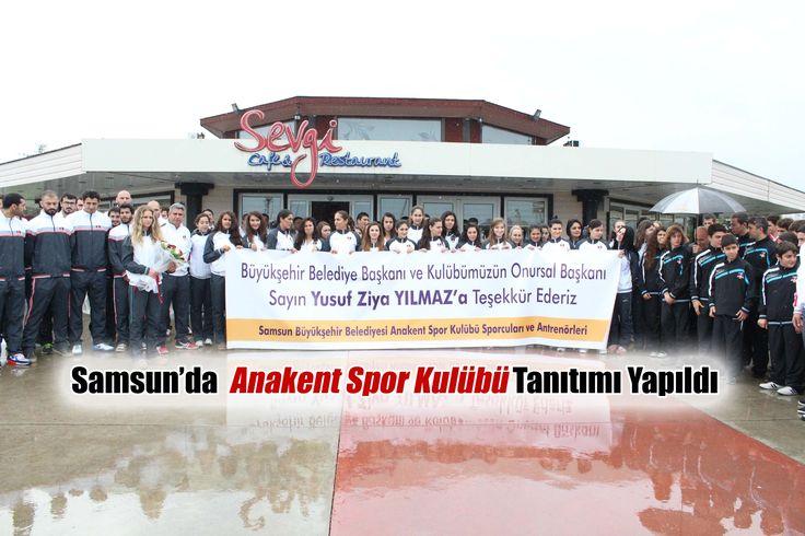 Samsun Büyükşehir Belediyesi, voleybol, basketbol, atlı binicilik, su kayağı, kayak, kano, güreş, yüzme spor dallarında aktif yer alacak olan Anakent Spor Kulübü'nü kurdu.  Samsun Haber