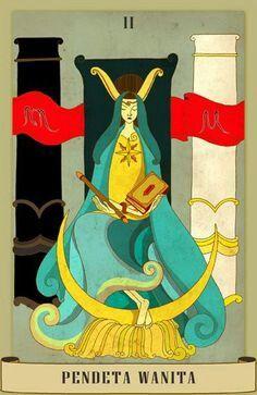 Pendeta Wanita Card