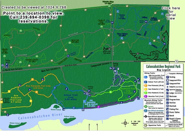 Caloosahatchee Park Awesome Trail Run Far East Trail