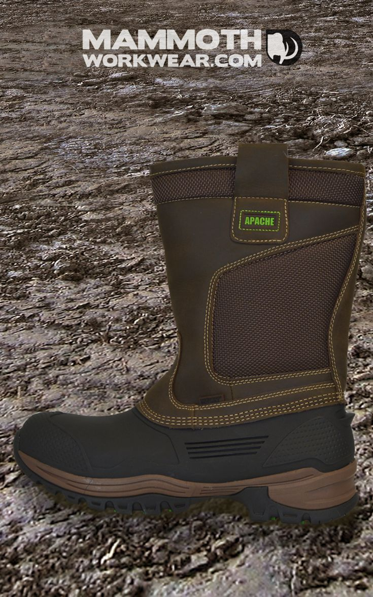 The Apache Traction is a new tough and technical rigger boot, designed to meet demanding work conditions and protect your feet from uncomfortable environments. These boots are 100% waterproof and provide your feet with antistatic protection. Right now save £4.01