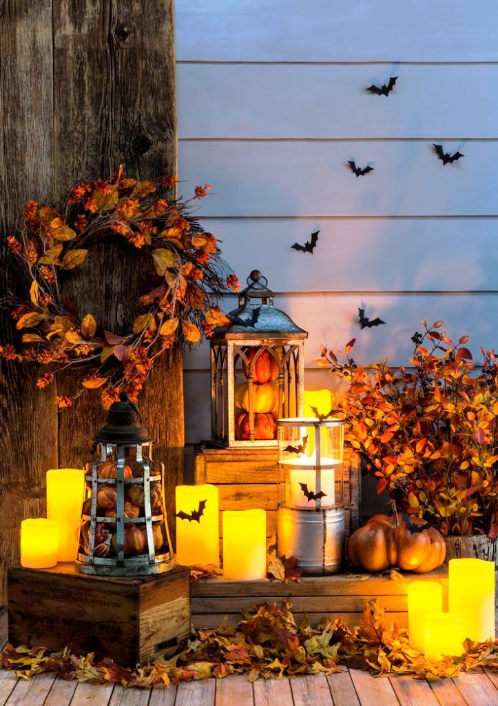 15 rustic halloween decorations inspiration in 2016 - Images Of Halloween Decorations