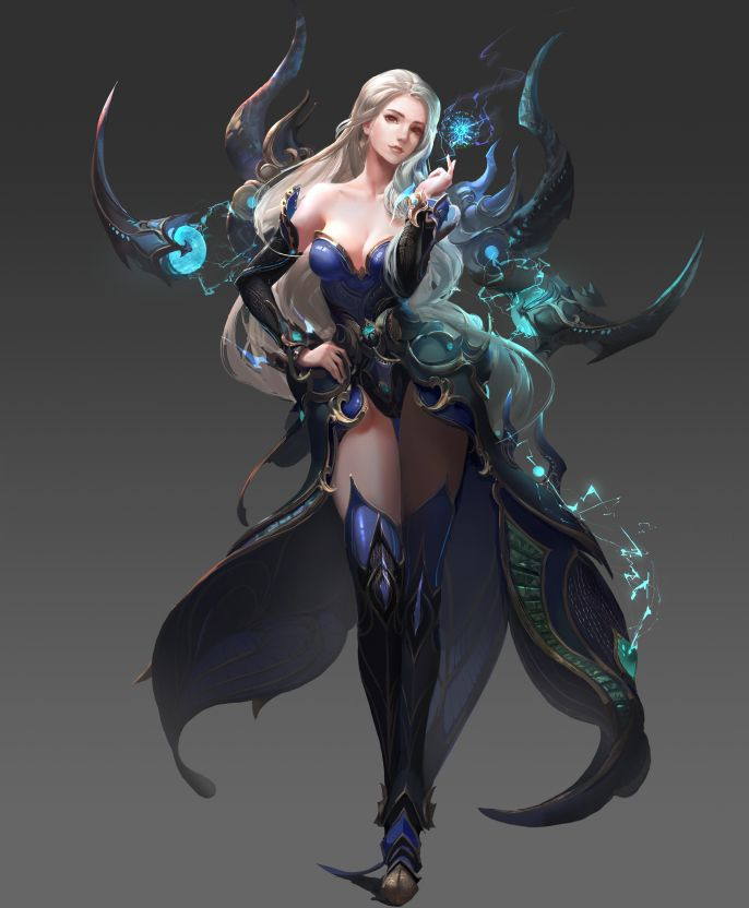 Xuan Yuan Legend by HugeClaw.deviantart.com on @DeviantArt