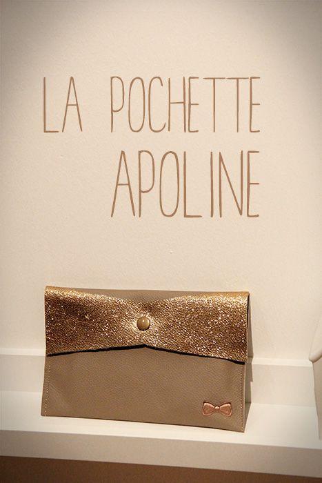La pochette Apoline [tutoriel et patron] - Lalouandco.fr