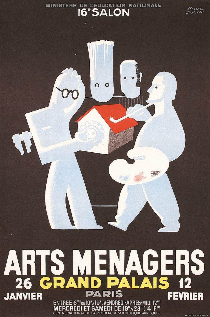 ¤ Paul Colin (1892-1986) – Arts Ménagers (ca 1930)
