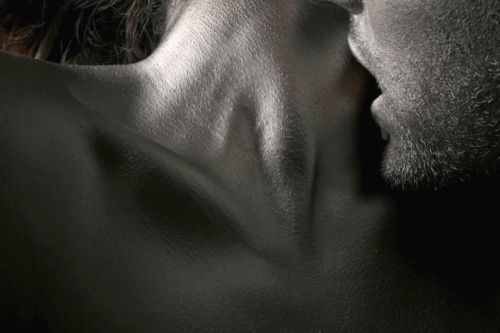 love my neck to be kissed