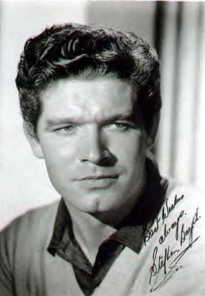 Stephen Boyd----  His acting style was always intense, but his chin alone gave him mad swagger.  lmr