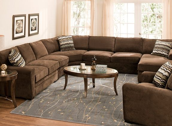 Artemis Ii 5 Pc Microfiber Sectional Sofa Sectional Sofas Raymour And Flanigan Furniture