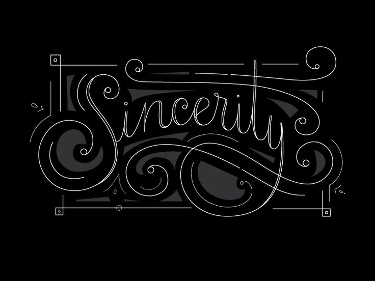 Sincerity 2 Typography Typography Letters And Badge Logo