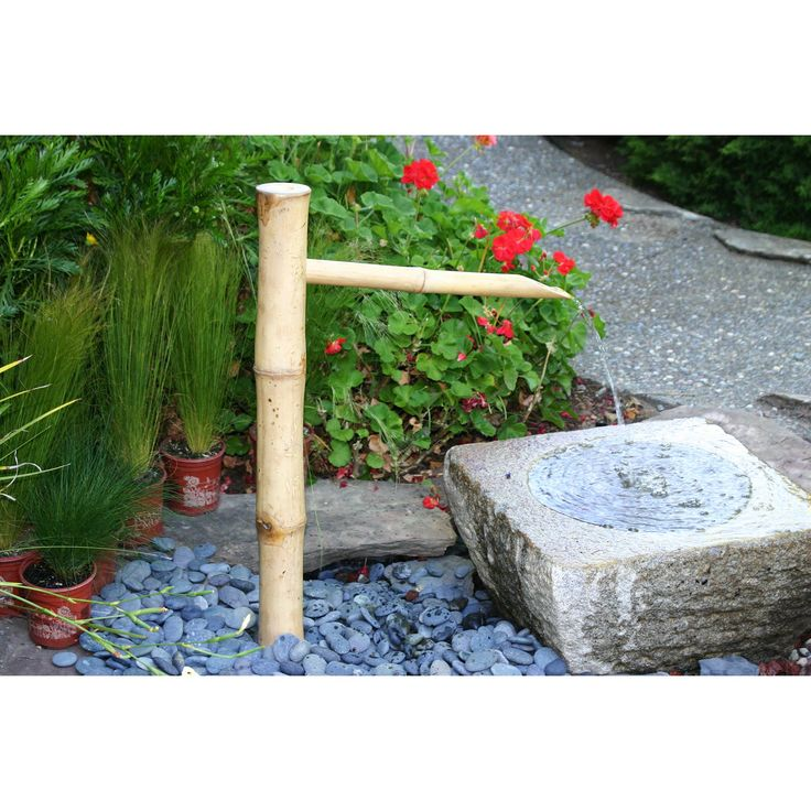 have to have it bamboo accents 36in traditional spout and pump fountain outdoor