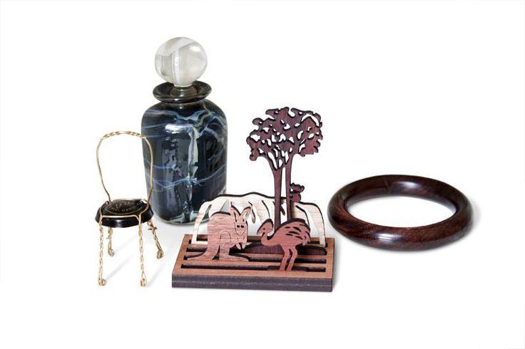 Buy Handmade Mini Australian Outback Landscape Puzzle | Australian Woodwork