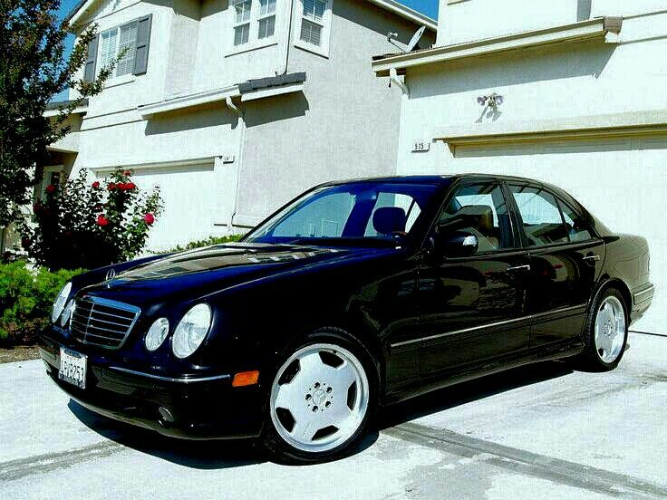 E55 AMG Mercedes. My aquisition from my past life.