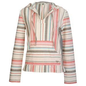 Roxy Tequila 2 Beach Pullover - Women's - Surf - Clothing - Natural Stripe