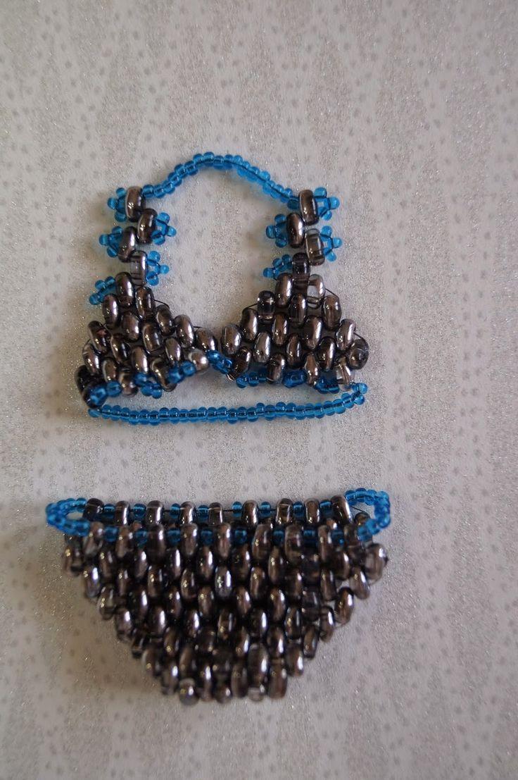 anamarris: Costume da bagno con perline Preciosa/ Beaded bath...