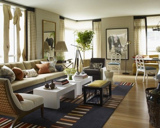 Long Living Room Design Ideas in a long thin room hanging pictures high on the longer wall of the space can just highlight the imbalance in the proportions Eclectic Living Room Open Layout Design Pictures Remodel Decor And Ideas Page