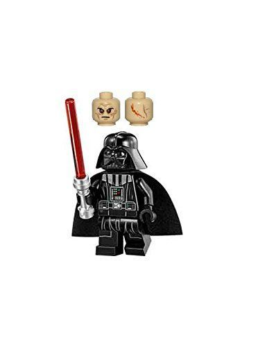 LEGO Star Wars Minifigure  Darth Vader with Tan Head  Red Lightsaber Imperial Star Destroyer 75055 -- Continue to the product at the image link.