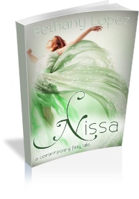 Cute contemporary fairy tale about fairies. A must read for Jessica Day George fans.. - Nissa by Bethany Lopez