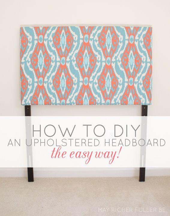 Diy Upholstered Twin Headboards The Easy Way Diy Headboard