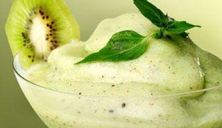 Sorbet au kiwi #recettesduqc #dessert
