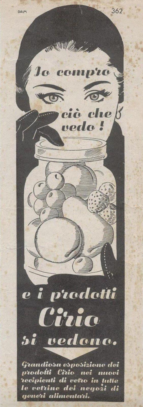 Pubblicità anni '50, Cirio 1952