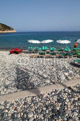 Stock photo available for sale at Fotolia: Beach At Marciana Marina, Elba Island, Italy