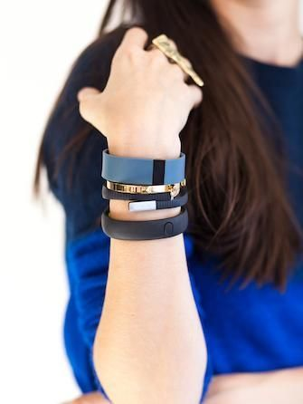 How to wear fitness trackers with the rest of your arm party! We're loving that these tools can be mixed with our everyday bracelets! What would you wear with yours? Who do you know that would love to get a fitness tracker for Christmas?