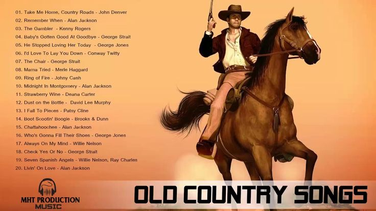 Best Old Country Songs of All Time ♪ღ♫ Country Classic of the Decades Pl...