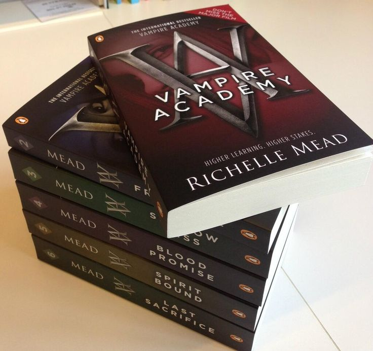Vampire Academy - Richelle Mead, read all these books in one week! Great series!!
