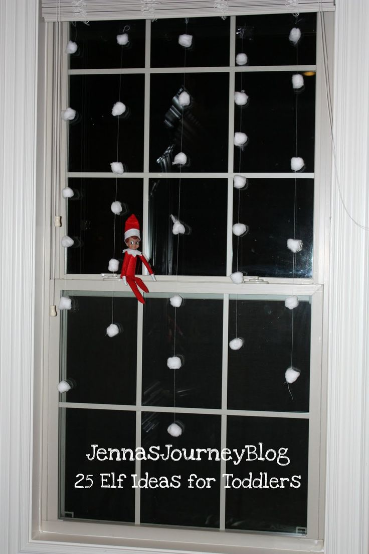 25 Elf on the Shelf Ideas for TODDLERS!
