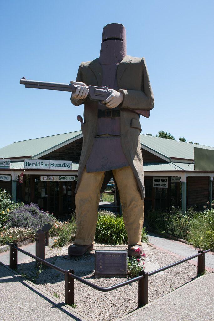 Ned Kelly Statue, Glenrowan VIC