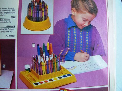 Crayola champ 1986: Art Sets, Crayola Caddy, Birthday Presents, Christmas Presents, Childhood Memories, Crayola Art, Art Caddy, Art Center, Art Stations