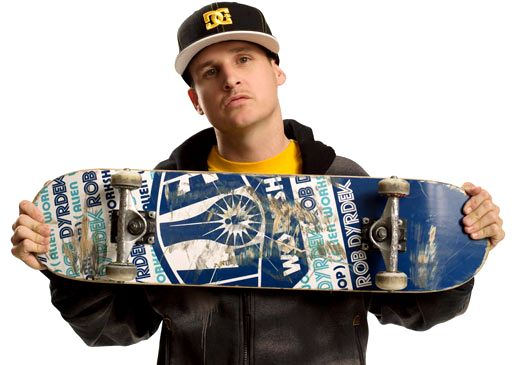 Rob Dyrdek...   1. Extremely successful entrepreneur   2. Absolutely hilarious and kindhearted   3. Always gives back more than he receives (safe spot skate spots... look it up)