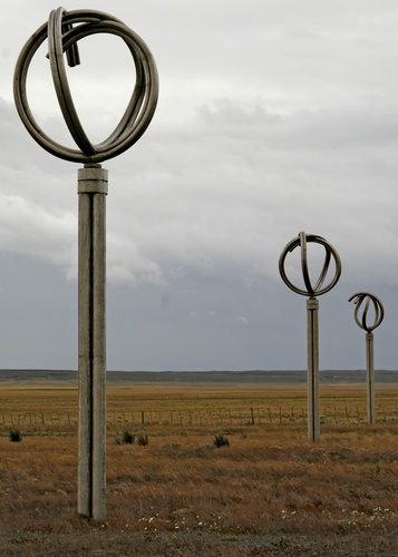 Monumento al Viento, Monument to the wind in Punta Arenas