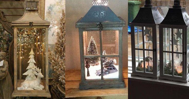 Een lantaarn wordt normaliter gebruikt als kaarsenhouder waarmee je ook buiten een kaarsje kunt branden. Ze zijn winddicht en zien er fantastisch uit. Sommige mensen vullen een lantaarn met leuke ornamenten om zo een uniek decoratiestuk te maken. Bekijk hier 8 zelfmaakideetjes ter inspiratie!