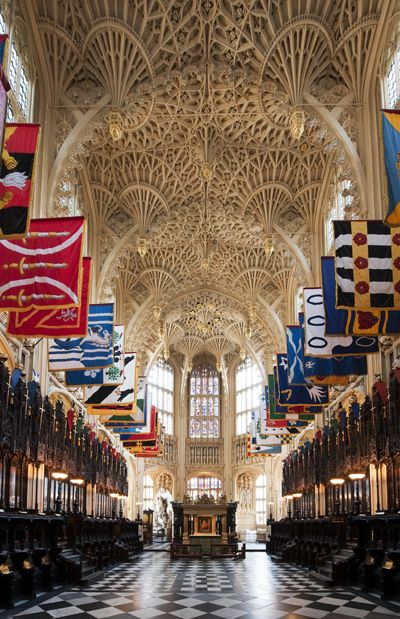 King Henry VII's Chapel in Westminster Abbey, London