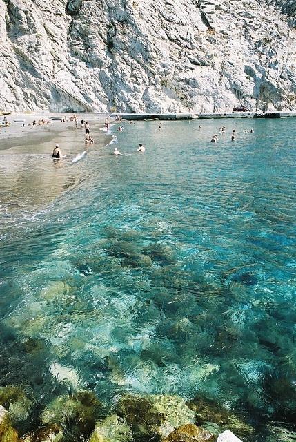 Perissa Beach – Santorini, Greece