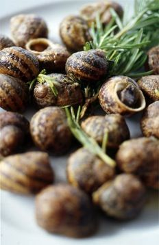 "Our ""hohlioi""...great steamed or fried Cretan snails... some love them!"