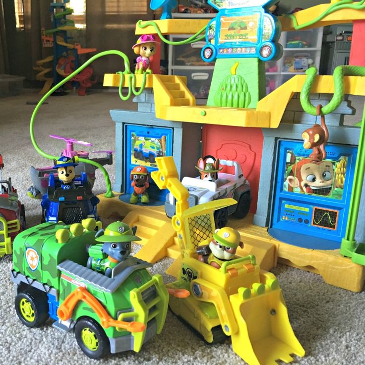 Paw Patrol Jungle Rescue Rocky and the Gang