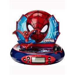 Radio sveglia e proiettore Spiderman