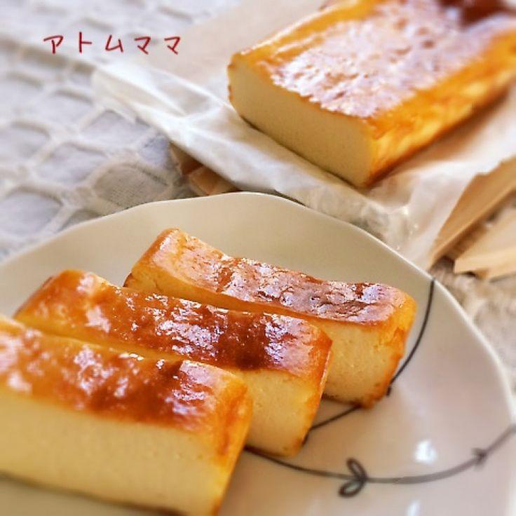 豆腐のチーズケーキ