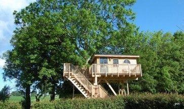 Voel je weer kind en slaap in een boomhut! Foto: Het Kleine Paradijs