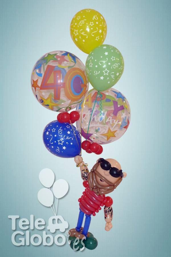 7 best globos feliz cumplea os images on pinterest - Globos de cumpleanos ...