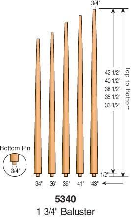 Best 5340 Pool Cue Pin Top Baluster 1 3 4 Round In 2019 400 x 300