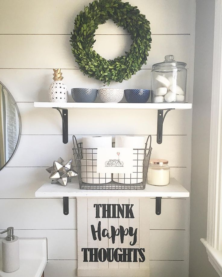 See this Instagram photo by @casa_williams • bathroom decor shelving above toi…   – Living room